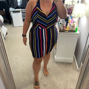 Fashion Nova Multicolored dress 2x